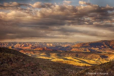 Sunset at Sycamore Canyon