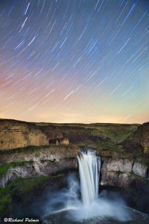 Palouse Falls at Night