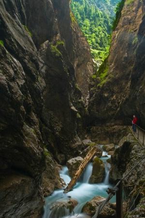 A Moment in Hollentaklamm Gorge