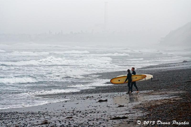 Overcast Surf Session