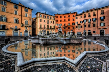A Morning at the Piazza