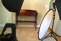 Set Up Photo for Large Item
