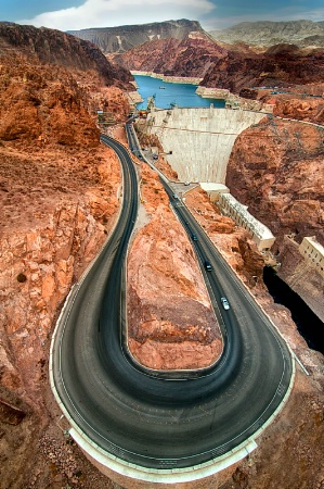 Hoover Dam - Nevada-Arizona - Colorado River