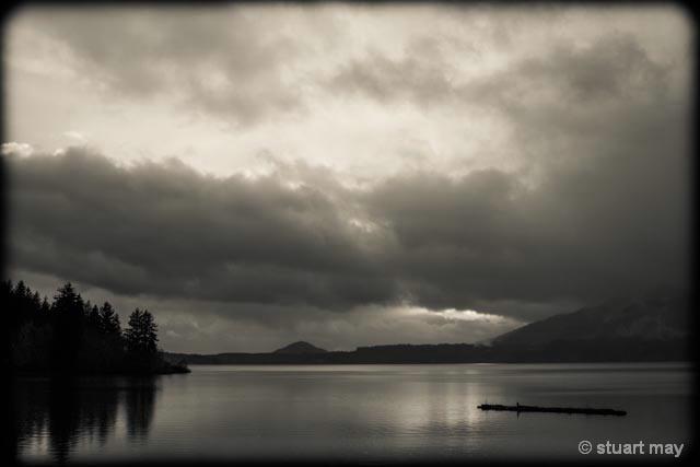 Quinault Lake Sunset 2 - ID: 13801002 © Stuart May