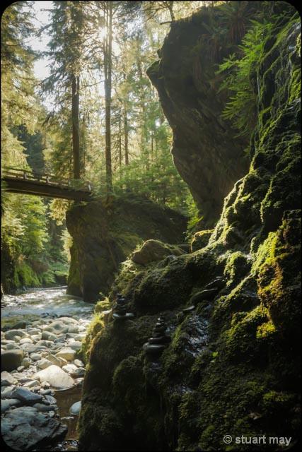 Pony Bridge Fall. - ID: 13801008 © Stuart May