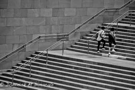 ~ ~ UP THE STAIRS ~ ~