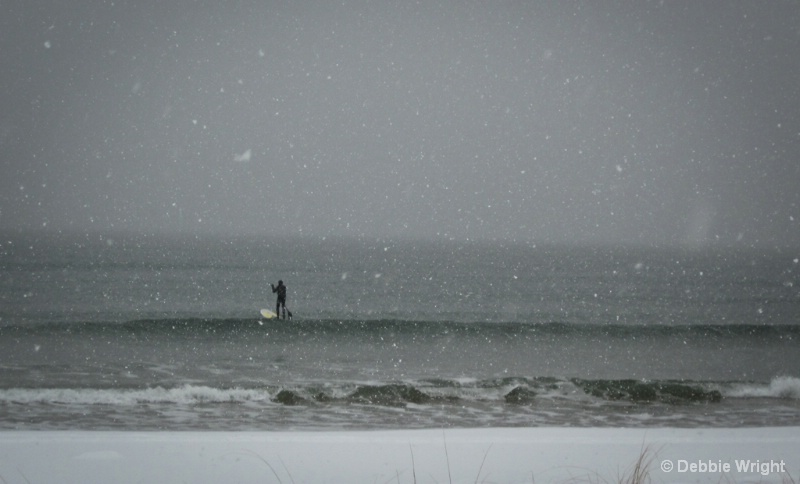 Surfer in the Storm - ID: 13802504 © deb Wright