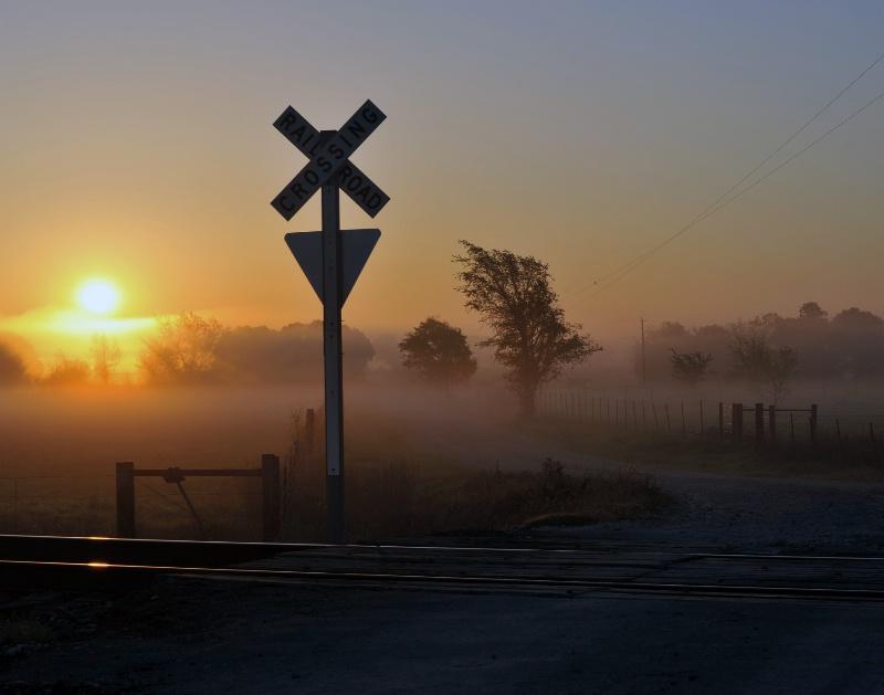 """The Sun Rise Crossing"""