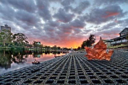 An Autumn 's Sunrise