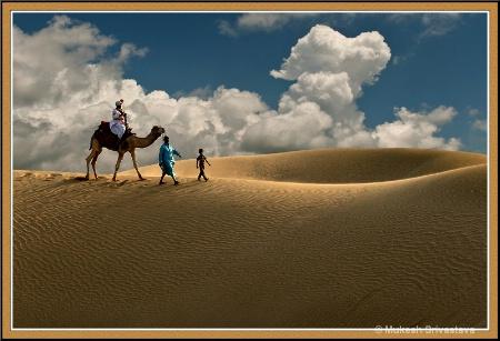 Khuri Sand Dunes, Jaisalmer