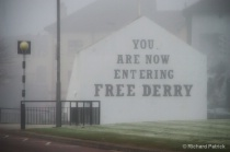 """Free Derry"" Gable Wall"