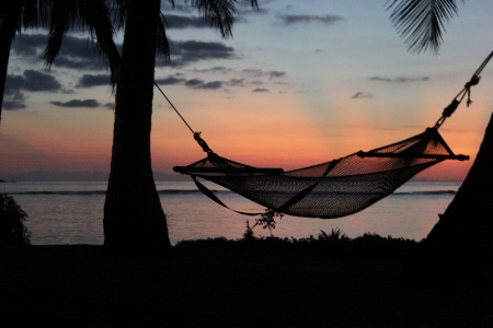 Sunset at Tokoriki Island