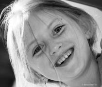 Naomi BW Portrait