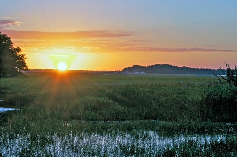 Sunset at Seabrook Island - ID: 13859308 © Zelia F. Frick