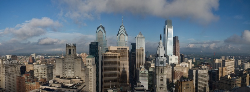 Morning Over Philadelphia - ID: 13871573 © Elliot S. Barnathan