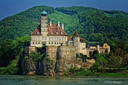 Castle on the Danube, Austria