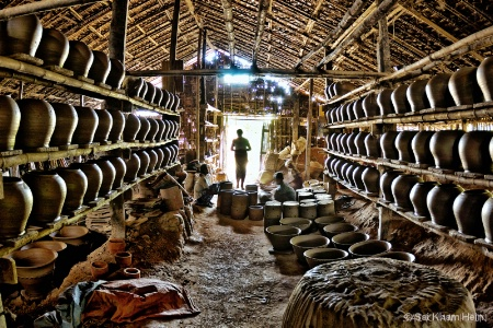 Pots factory.