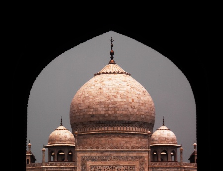The Taj On A Rainy Day