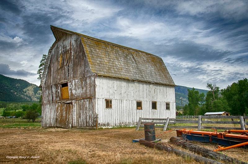 Abandoned Barn, Florence, Montana