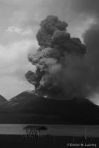 Volcano, B&W