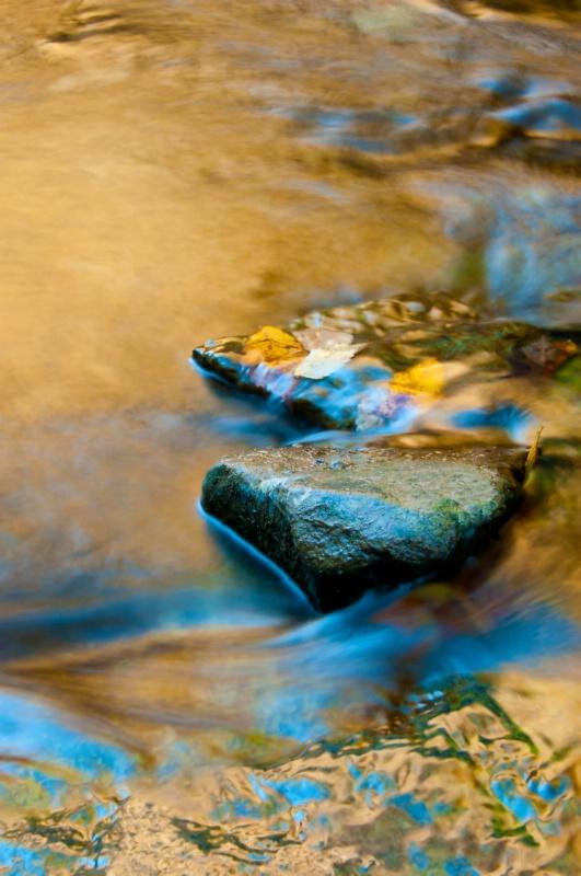 The Color of Flowing Water - ID: 13941188 © Deborah H. Zimmerman