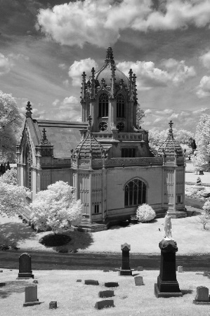 Green-Wood Cemetery Chapel