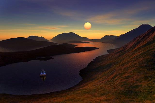 Serene Sailing