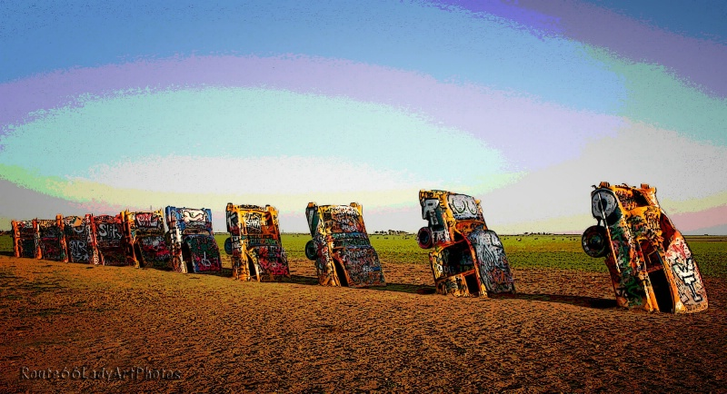 Cadillac Ranch - ID: 13953897 © JudyAnn Rector