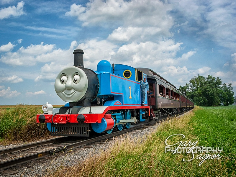 Thomas the Tank Engine at Strasburg Pa.