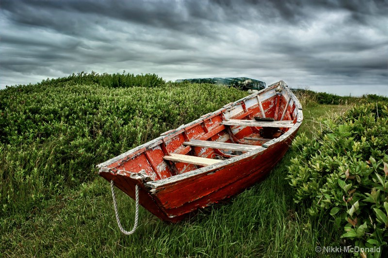Rowboat at Prospect Point #2
