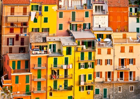 ~ ~ HOUSES IN CINQUE TERRE ~ ~