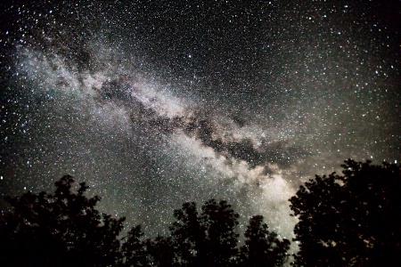 Milky Way at Palouse Falls 3108