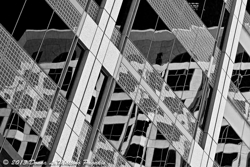 Reflections in the Glass