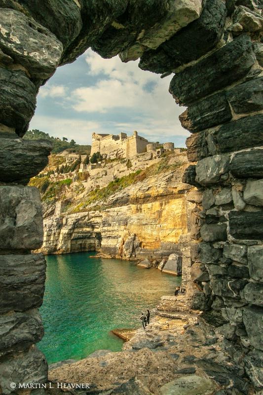 Portal to Bay of Poets, Portovenere - Italy - ID: 14007257 © Martin L. Heavner