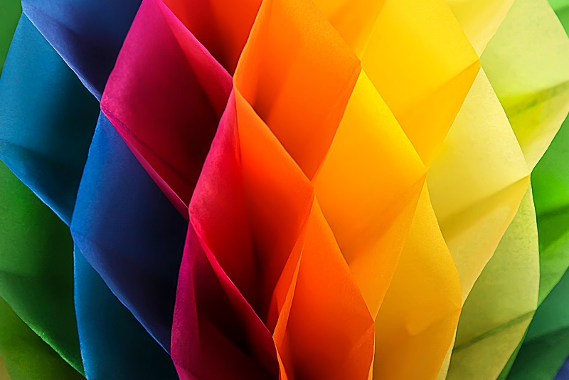 Colors of the Visible Spectrum