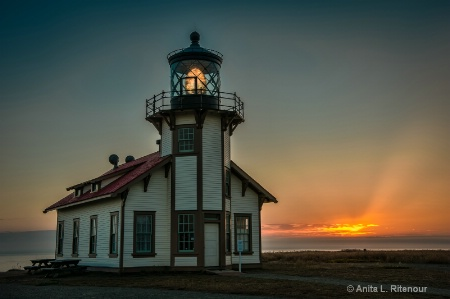 Point Cabrillo Sunset