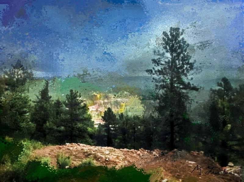 Mountain Scene in Colorado