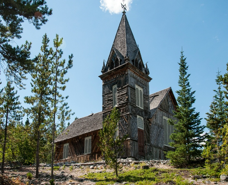 Old Church at Carcross, Canada - ID: 14035662 © William S. Briggs