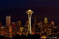Night Lights in Seattle