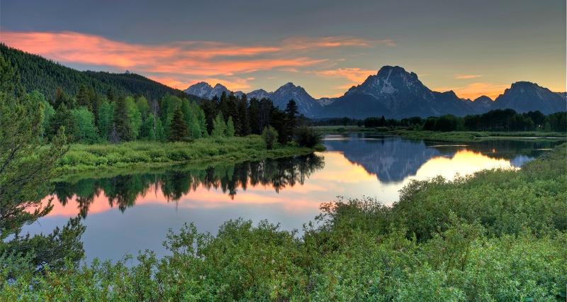 Oxbow Sunset - ID: 14048979 © Kelly Pape