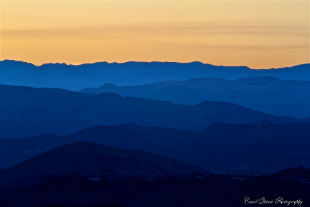 The Hills at Sunset