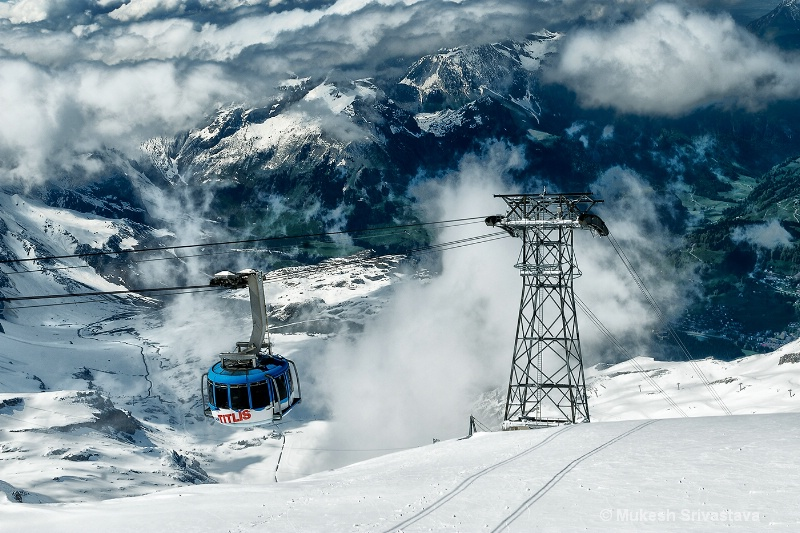 Titlis Rotair Cable Car, Switzerland