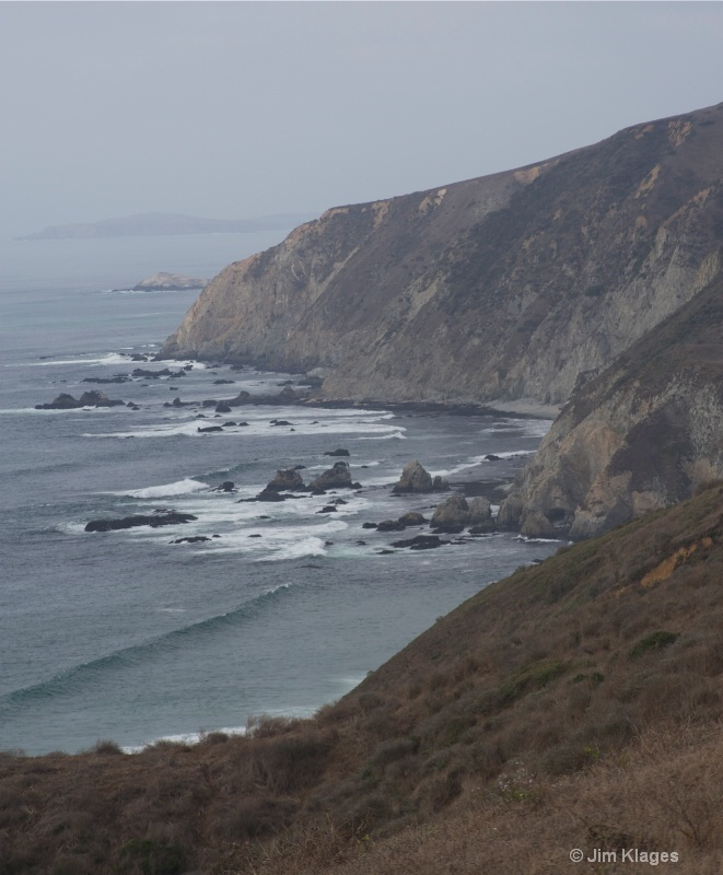View Along the Tomales Point Trail - ID: 14056854 © Jim Klages