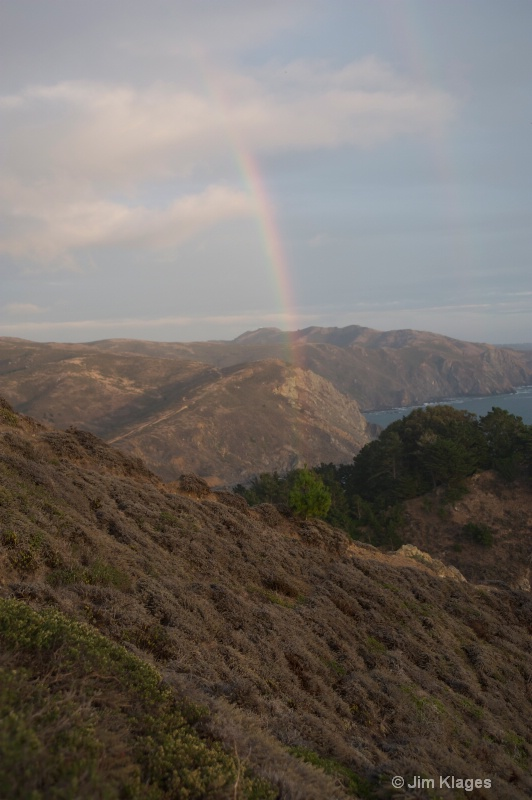 Rainbow Over Muir Beach - ID: 14056857 © Jim Klages
