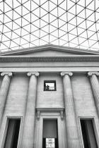 British museum in Greyscale