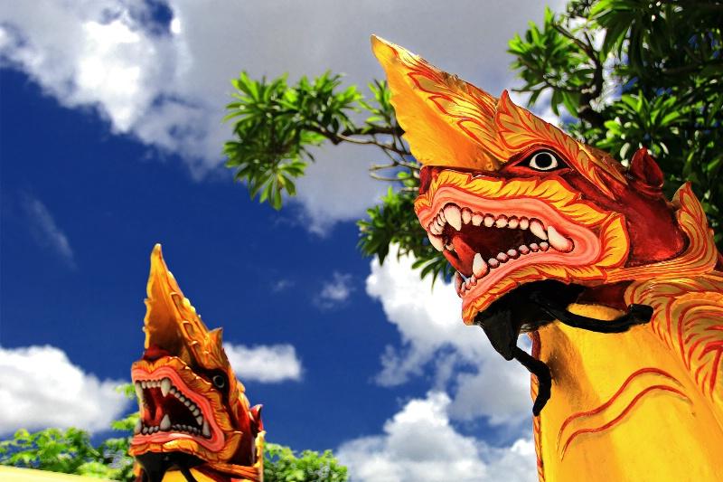 Myanmar Traditional Dragon