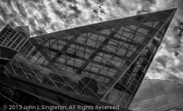 Taubman Art Museum - Glass Atrium  - ID: 14089963 © John Singleton