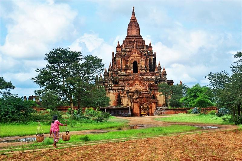 Acient Bagan Pagoda