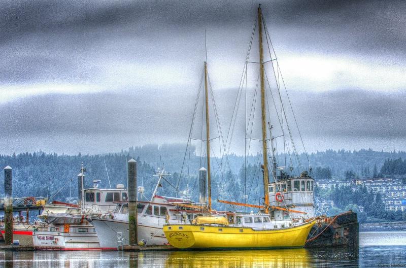 Misty Port Orchard Morning