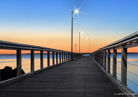 Wellington Point Jetty at Dawn
